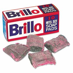 Brillo Steel Wool Soap Pads, 120 Pads (PUR W240000)