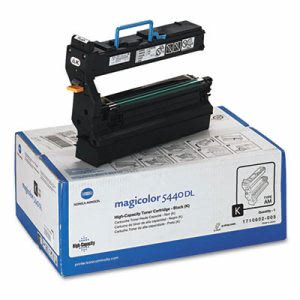 Konica Minolta 1710602005 High-Yield Toner, 12000 Page, Black (KNM1710602005)