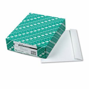 Quality Park Booklet Envelope, Contemporary, 12 x 9, White, 100/Box (QUA37693)