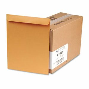 Quality Park Catalog Envelope, 12 x 15 1/2, Brown Kraft, 250/Box (QUA41965)