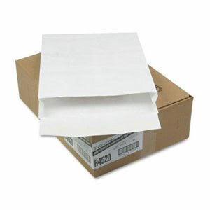 Survivor Tyvek Expansion Mailer, 12 x 16 x 2, White, 100/Carton (QUAR4520)
