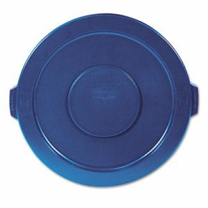 Rubbermaid 263100 Brute 32 Gallon Round Trash Container Lid, Blue (RCP263100BE)