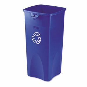 Rubbermaid 3569-73 Untouchable 23 Gallon Recycling Can, Blue (RCP 3569-73 BLU)