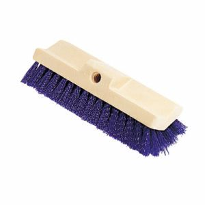 "Rubbermaid 6337 Bi-Level Floor Scrub Brush, 10"" Plastic Block (RCP6337BLU)"