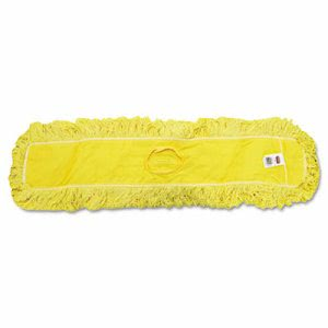 Rubbermaid J155 Trapper Dust Mop - 36inch, 5 x 36, Yellow (RCP J155)