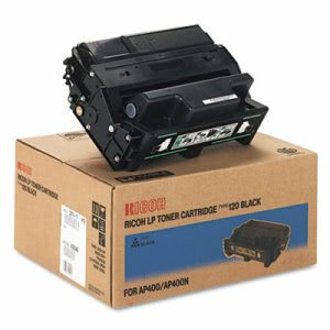 Ricoh 400942 Toner, 15000 Page-Yield, Black, 1 Each (RIC407000)