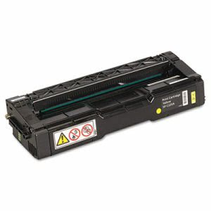 Ricoh 406044 Toner, 2000 Page-Yield, Yellow (RIC406044)
