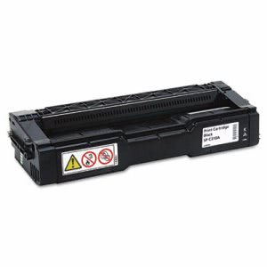 Ricoh 406344 Toner, 2500 Page-Yield, Black, 1 Each (RIC406344)