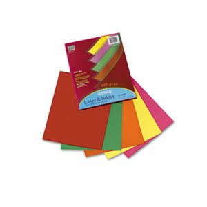 Pacon Array Colored Bond Paper, Letter, Assorted, 100 Sheets/Pack (PAC101049)