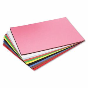 Pacon Construction Paper, 76 lbs., 18 x 24, Assorted, 50 Sheets (PAC103478)