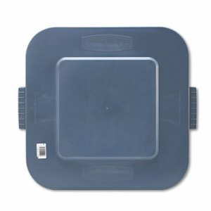 Rubbermaid 3527 Lid for 3526 Container, Gray (RCP352700GY)