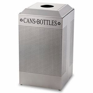 Rubbermaid DCR24CSM 29 Gallon Can/Bottle Recycling Receptacle (RCPDCR24CSM)