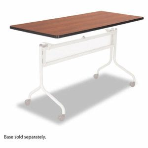 Safco Mobile Training Table Top, Rectangular, 60w x 24d, Cherry (SAF2066CY)
