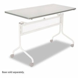 Safco Mobile Training Table Top, Rectangular, 60w x 24d, Gray (SAF2066GR)