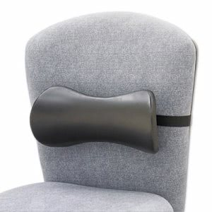 Safco Lumbar Support Memory Foam Backrest, Black (SAF7154BL)