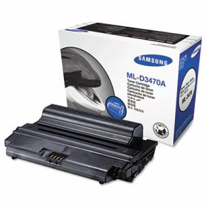 Samsung MLD3470A Toner Cartridge, 4000 Page-Yield, Black (SASMLD3470A)
