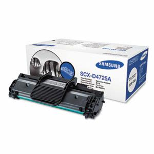 Samsung SCXD4725A Toner, 3000 Page-Yield, Black (SASSCXD4725A)