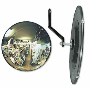"See All 160 degree Convex Security Mirror, 12"" dia. (SEEN12)"