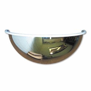 "See All Half-Dome Convex Security Mirror, 26"" dia. (SEEPV26180)"