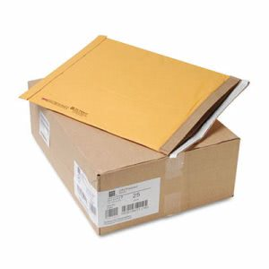 Jiffy Padded Self-Seal Mailer, Side Seam, #7, Brown, 25 per Carton (SEL21491)