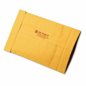 Sealed Jiffy Padded Mailer, Side Seam, #0, 6 x 10, Brown, 250/Carton (SEL49251)