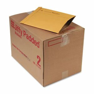 Sealed Padded Mailer, Side Seam, 8 1/2 x 12, Brown, 100 per Carton (SEL49263)