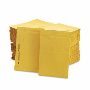 Sealed Air Jiffy Padded Mailer, Side Seam, #4, Brown, 100 per Carton (SEL49269)