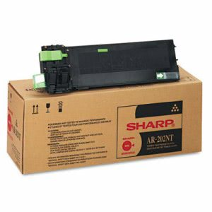 Sharp AR202NT Toner, 16000 Page-Yield, Black, 1 Each (SHRAR202NT)