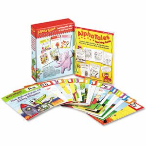 Scholastic Alpha Tales Learning Set, Grades K-1, 128 Pages (SHS0545067642)