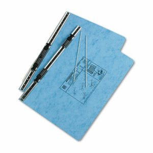 Acco Pressboard Hanging Data Binder, 14-7/8 x 8-1/2, Light Blue (ACC54042)