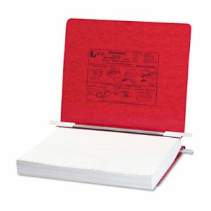 Acco Pressboard Hanging Data Binder, 11 x 8-1/2, Executive Red (ACC54129)