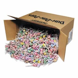 Spangler Dum-Dum-Pops, Assorted Flavors, Individually Wrapped, 30-lbs (SPA534)