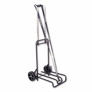 Stebco Luggage Cart, 250lb Capacity, 12-1/4 x 13, Blk/Chrome (STB390007BLK)