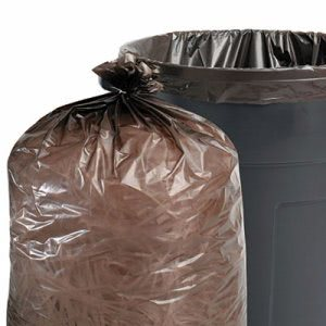 Stout Recycled Trash Bags, 55-60 gal, 1.5mil, 38 x 60, 100 Bags (STOT3860B15)