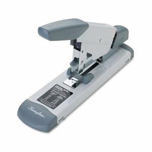 Swingline Deluxe Heavy-Duty Stapler, 160-Sheet Capacity, Platinum (SWI39002)