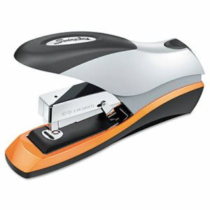 Swingline Desktop Stapler, 70-Sheet Capacity, Silver/Orange/Black (SWI87875)