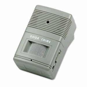 Tatco Visitor Arrival/Departure Chime, Battery Operated, Gray (TCO15300)