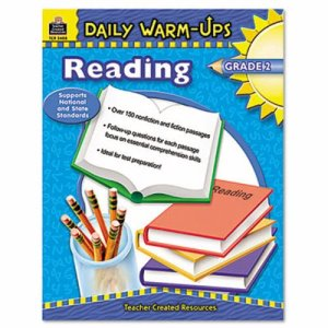 Teacher Created Resources Daily Warm-Ups: Reading, Grade 2, Paperback, 176 Pages (TCR3488)