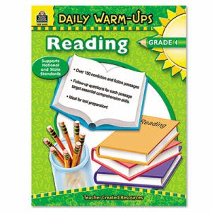 Teacher Created Resources, Reading, Grade 4, Paperback, 176 Pages (TCR3490)