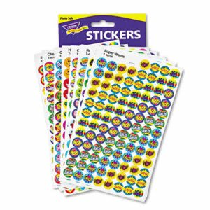 Trend SuperSpots and SuperShapes Sticker Packs, 2,500 Stickers (TEPT1945)