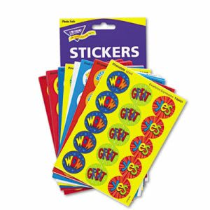 Trend Stinky Stickers Variety Pack, Praise Words, 432/Pack (TEPT6490)