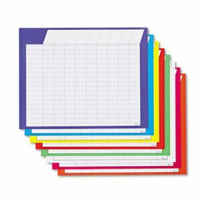 Trend Horizontal Incentive Chart Pack, Assorted Colors, 8/Pack (TEPT73902)