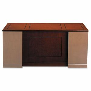 Mayline Sorrento Series Veneer Straight Front Desk Top,72w x 30d, Bourbon Cherry (MLNSDTS72SCR)