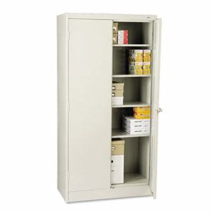 "Tennsco 72"" High Standard Cabinet, 36w x 18d x 72h, Light Gray (TNN1470LGY)"