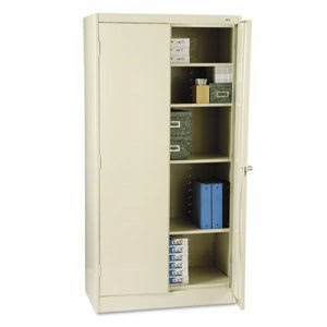 "Tennsco 72"" High Standard Cabinet, 36w x 18d x 72h, Putty (TNN1470PY)"