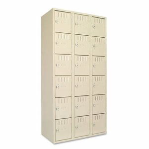 Tennsco Box Compartments, 36w x 18d x 72h, Sand (TNNBS6121812CSD)