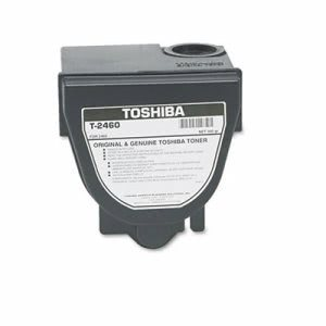 Toshiba T2460 Toner, 10000 Page-Yield, Black (TOST2460)