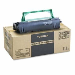 Toshiba TK18 Toner, 8300 Page-Yield, Black, OEM Compatible, Each (TOSTK18)