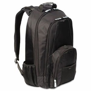"Targus 17"" Laptop Backpack, Media Pocket, Water Bottle Holders (TRGCVR617)"