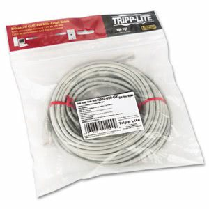 Tripp Lite CAT5e Molded Patch Cable, 50 ft., Gray (TRPN002050GY)